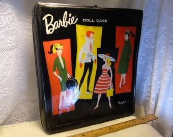 Vintage 1961 Barbie Doll Case Ponytail 1961 - BY MATTEL
