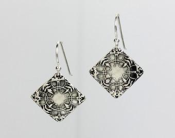 Ephemeral Silver Earrings