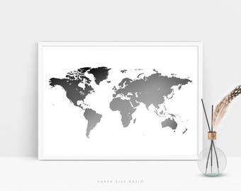 World map white eczalinf world map white gumiabroncs Image collections
