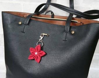 Flower keyring, bag charm, bag tag, Flower, Bag, Charm, Handbag Charm, Handbag, Accessory, Purse Charm, Secret Santa, Stocking Filler