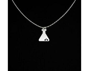 Beaker Necklace - Beaker Jewelry - Beaker Gift