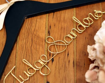 Lawyer Hanger, Lawyer Gift Idea, Personalized Hanger, Unique Hanger, Bride Hanger, Custom Hanger