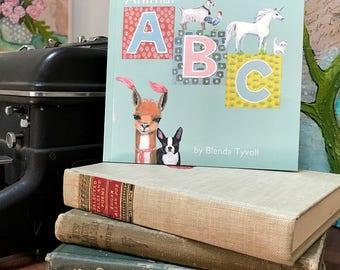Animal ABC Book, Children's Book, ABC, Animal, Alphabet, Kids Gifts, Creativity, Learning