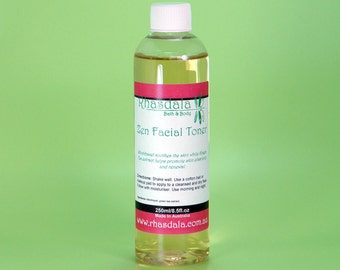 250ml Facial Toner - Zen Facial Toner - For Normal Skin