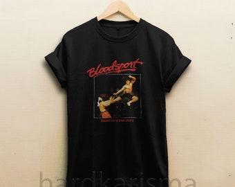 bloodsport shirt , jean claude shirts , van damme shirt , kung fu tee , kungfu , martial art , chong li tshirt , clothing t-shirt HK0144-45