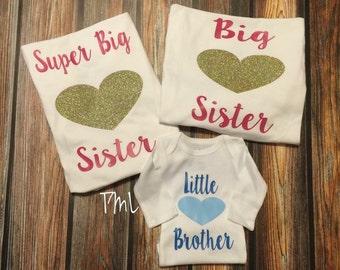 Siblings Matching Shirts/ Set of Three