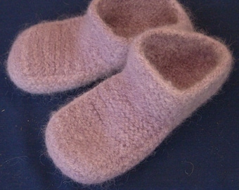 S02 Felted Slippers (Pattern only)