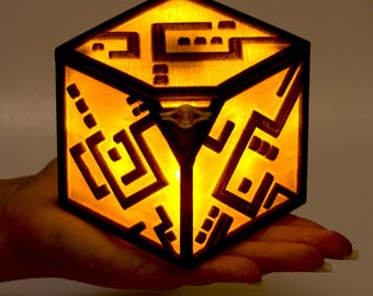 Yu-Gi-Oh! Quantum Cube Inspired Lightbox For Late Night Card Fights or Cosplay w/Switch (Batteries Not Included)