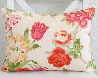Pillow Cover - Patricia Floral lumbar pillow cover