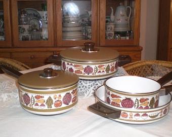 Retro 70s 6-Piece Cookware Set