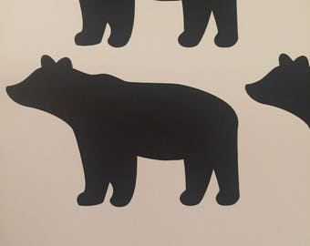 Vinyl Bear Sticker/Car Decal