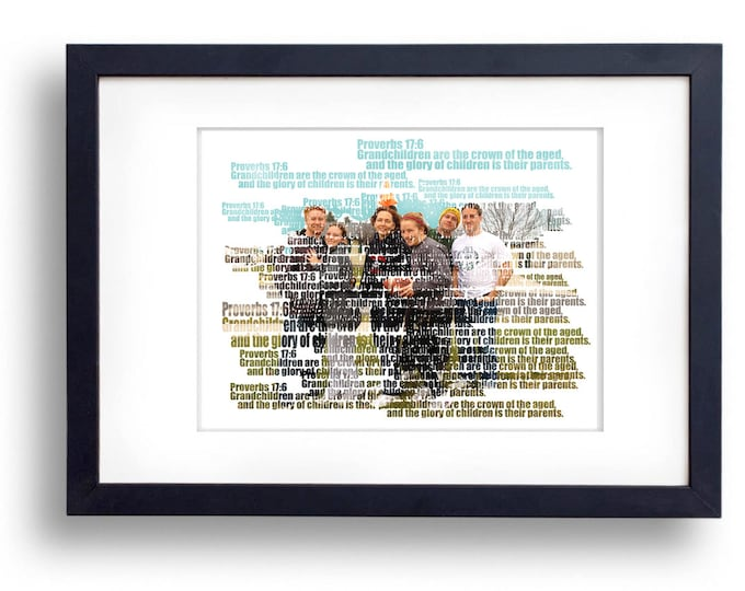 Wedding Vows Song Lyric Custom Word Art Photo Gift Bible Verse on Card Stock Paper 8.5x11