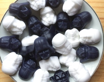 Star Wars Soaps - Fathers day gift - gift for him - Darth Vader Stormtrooper - The Last Jedi - May the Force be with you - dad gift