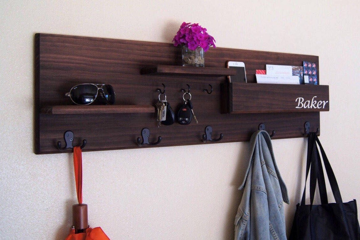 stewart solutions shelf wall racks picket martha with coat entryway mounted p rack fence living hooks