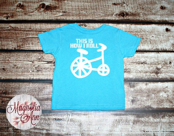This is How I Roll, Graphic Toddler T-Shirt, Toddler Graphic Tee, Toddler Shirt,  Trendy Tee, Toddler Clothes