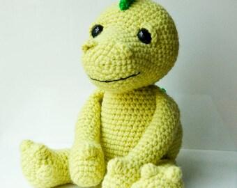 Amigurumi Dinosaur Free Pattern : Amigurumi dragon dinosaur pattern crocheted soft toy plush pattern