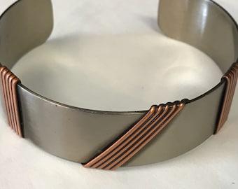 Copper/Silver Bracelet