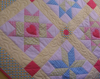 Quilt Pattern Shoot for the Stars Quilt