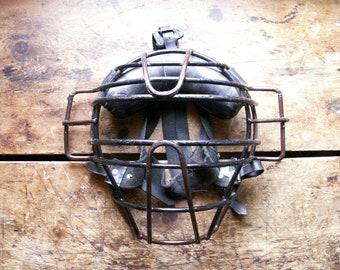 Vintage Baseball Catchers Mask from MacGregor - Umpire Mask - Great Guy Gift!