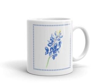 Bluebonnet with Border Mug
