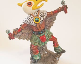 Ceramic Tribal Figurine