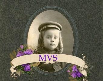 Sweet Boy Wilk VIntage Photo Scan MVS Exclusive