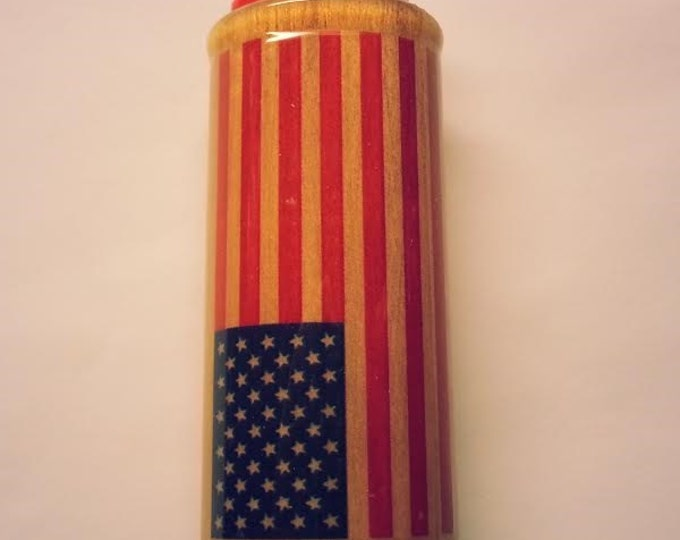 American Flag Lighter Case, United States Lighter Holder, Lighter Sleeve