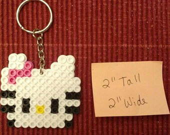 Hello Kitty party pack - Set of 8 keychains or zipper pulls