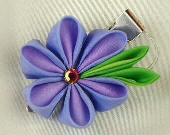 Blue (Violet) Kanzashi Single