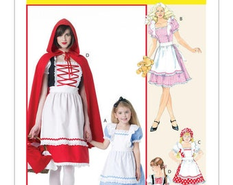 Cosplay Mc Call's M6187 little Red Riding Hood costume sewing pattern