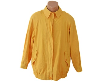 Aquascutum Men Spring yellow Jacket sport coat Made in England Vintage Weatherproof Garments buttons mens jacket EiuxX