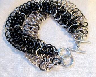Biology Jewelry - Gel Electrophoresis Bracelet - STEM Sciart Science Jewelry - Biochemist Molecular Biologist Scientist Gift