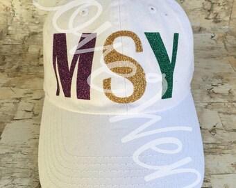 Mardi Gras MSY cap!