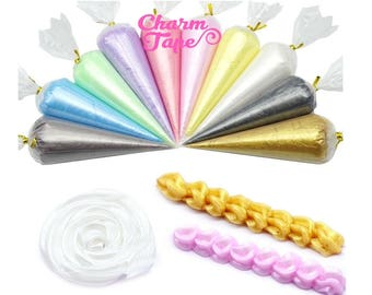 Pearl Whip Deco Cream - 50gram (Free 1 tip) Fake Frosting