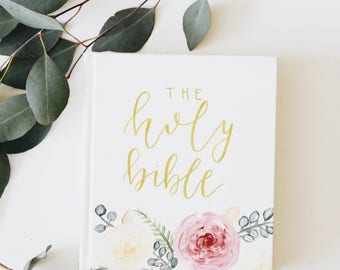 Hand Painted Bible // Flourish Theme