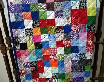 Baby, Toddler or Lap Quilt