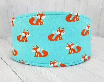 Male Dog Belly band - dog diaper - Reusable and washable - potty training aid - Small to Large sizes - Cute Foxes - SHIPS TOMORROW!