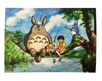 My Neighbor Totoro (print)