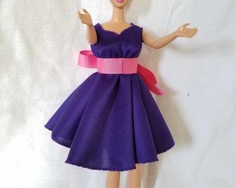 Barbie Doll Party Dress + Shoes!