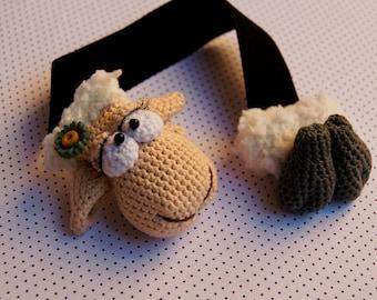 Favori des moutons fille Amigurumi au crochet