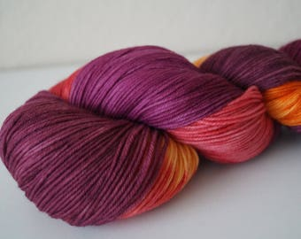 I Smell Children on Simple Sock – Hand Dyed Yarn