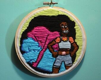 Stevonnie Hoop Embroidery