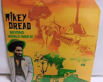 Mikey Dread Beyond World War III - Vintage Vinyl Record Album Reggae 1981 Heartbeat 02 EXC/EXC