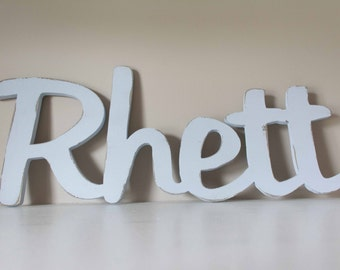 Name Sign, Baby Name, Nursery Decor, Child's Name, Kid's Room, Over the Crib or Bed