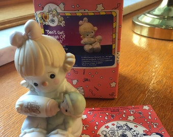 Precious Moments 1994 Can't Get Enough of Our Club Figurine