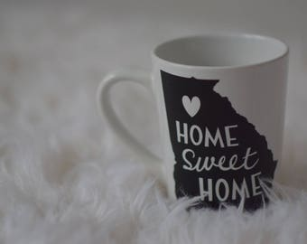 Pick your state customized coffee mug