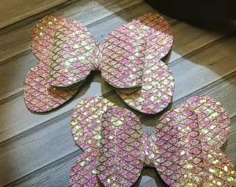 Butterfly  hair clips for girls