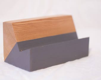 Cedar Business Card Holder