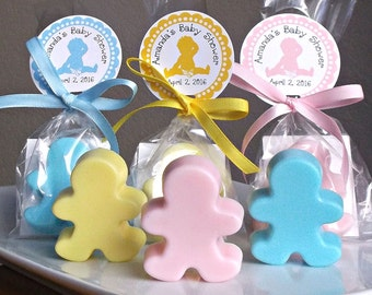 Unique Baby Shower Favors - Baby Favors, Girl Baby Shower Favors, Boy Baby Shower Favors, Soap - Set of 10