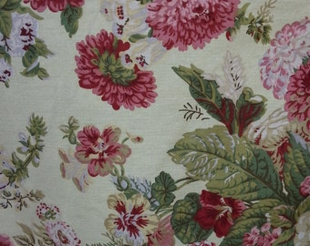 """Sitting Pretty Design - Waverly Fabric - Gold - Cotton - By the Yard - 54"""" Width"""